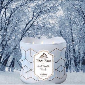 NEW Iced Vanilla Woods Candle